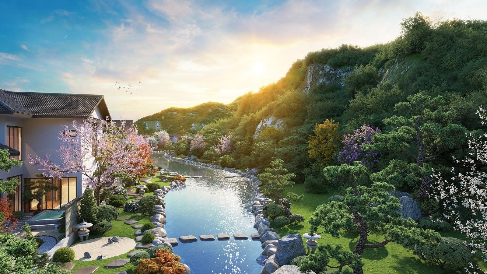 Suối khoáng nóng Quang Hanh - tâm điểm nghỉ dưỡng phía Bắc của giới thượng lưu 7
