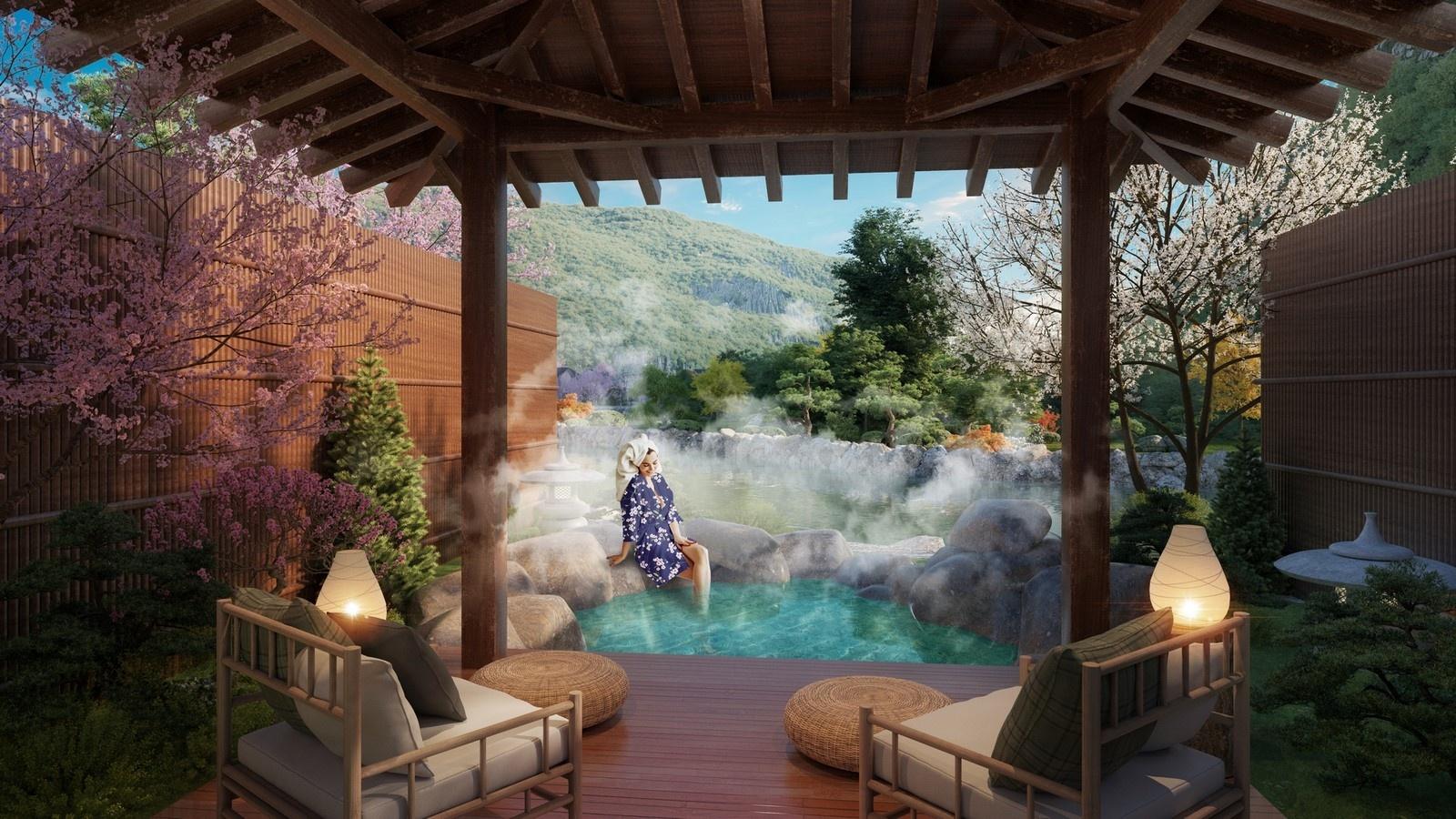 Suối khoáng nóng Quang Hanh - tâm điểm nghỉ dưỡng phía Bắc của giới thượng lưu 8
