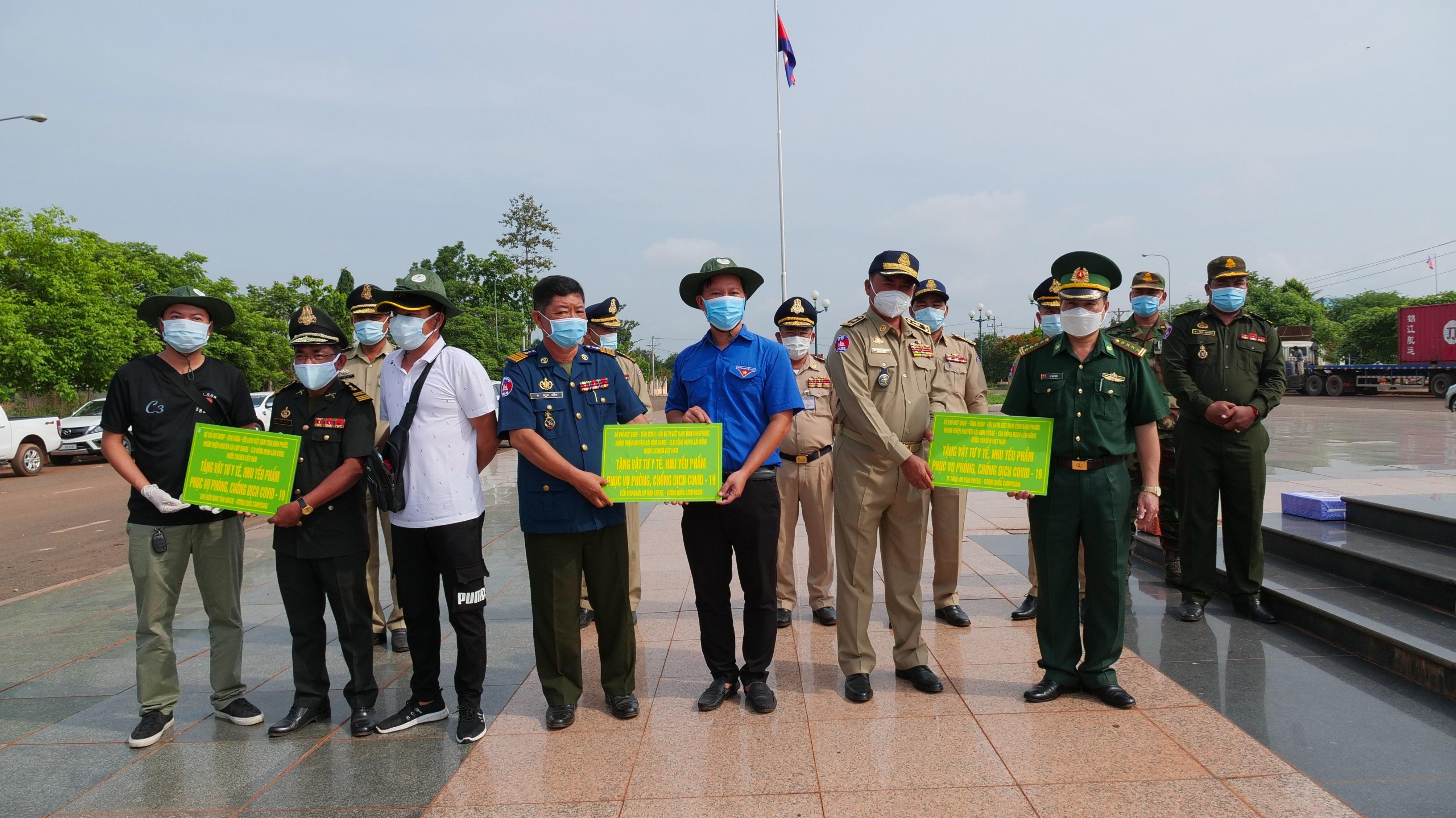 """Bình Phước: Lan tỏa việc tử tế khi người trẻ chung tay """"tiếp sức"""" tỉnh Kratie, Campuchia 1"""