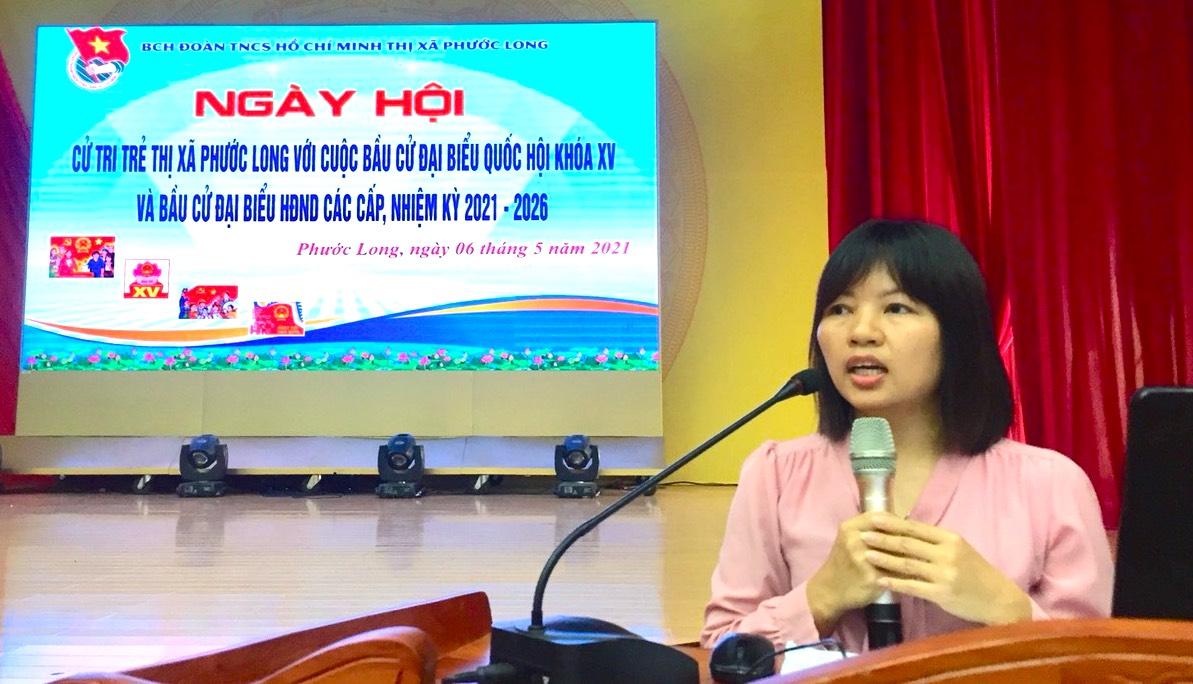 """Người trẻ tỉnh biên giới hào hứng với Hội thi """"Lá phiếu trách nhiệm"""" 3"""