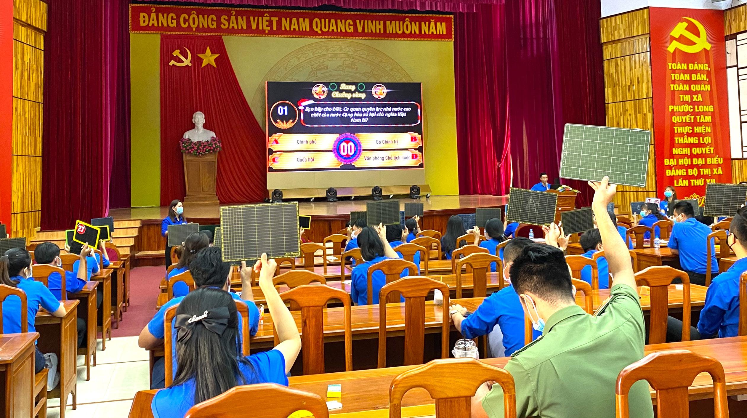 """Người trẻ tỉnh biên giới hào hứng với Hội thi """"Lá phiếu trách nhiệm"""" 4"""
