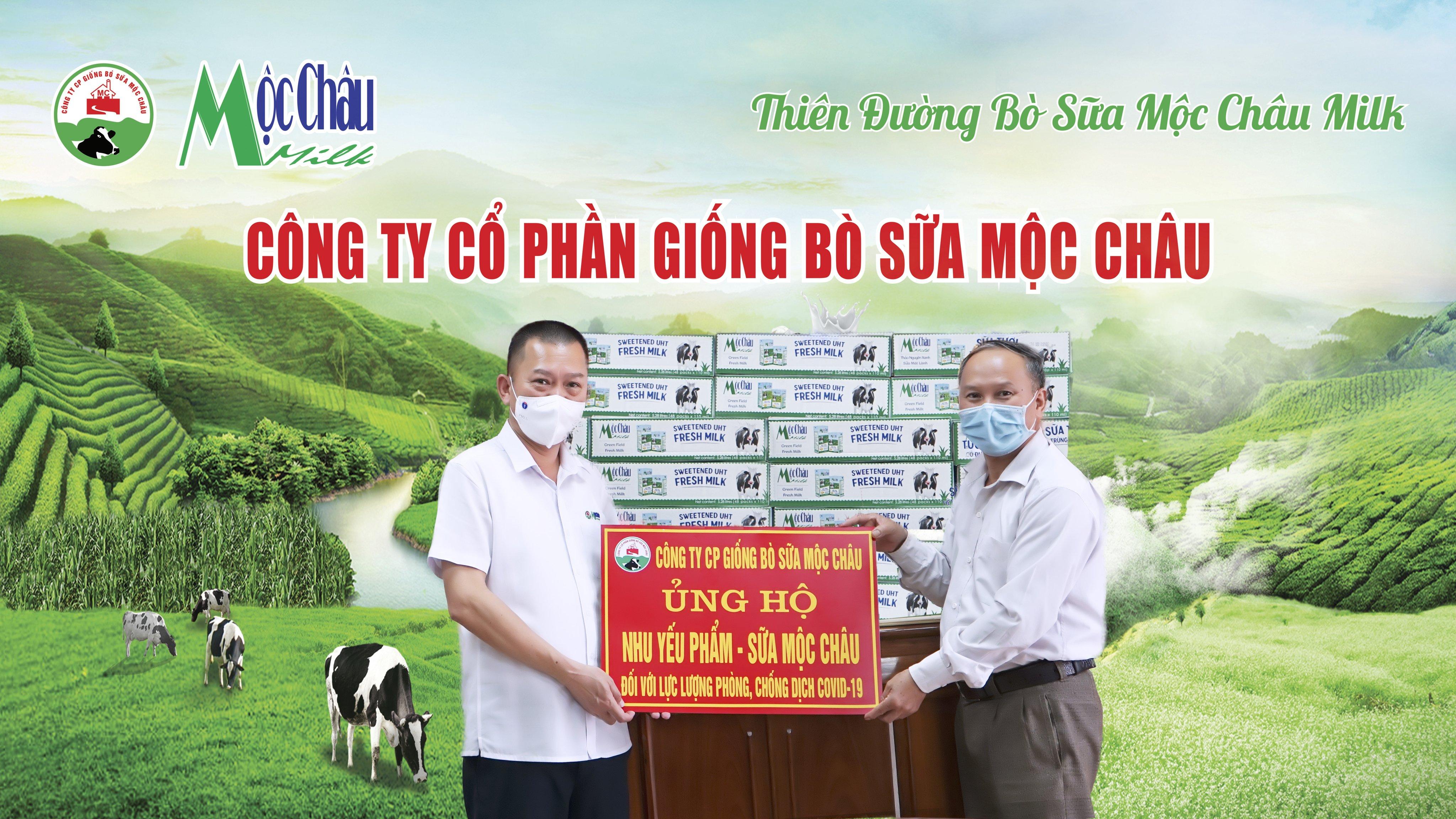 Mộc Châu Milk hỗ trợ hơn 50.000 sản phẩm sữa cho lực lượng tuyến đầu và người dân nơi tâm dịch Covid-19 2