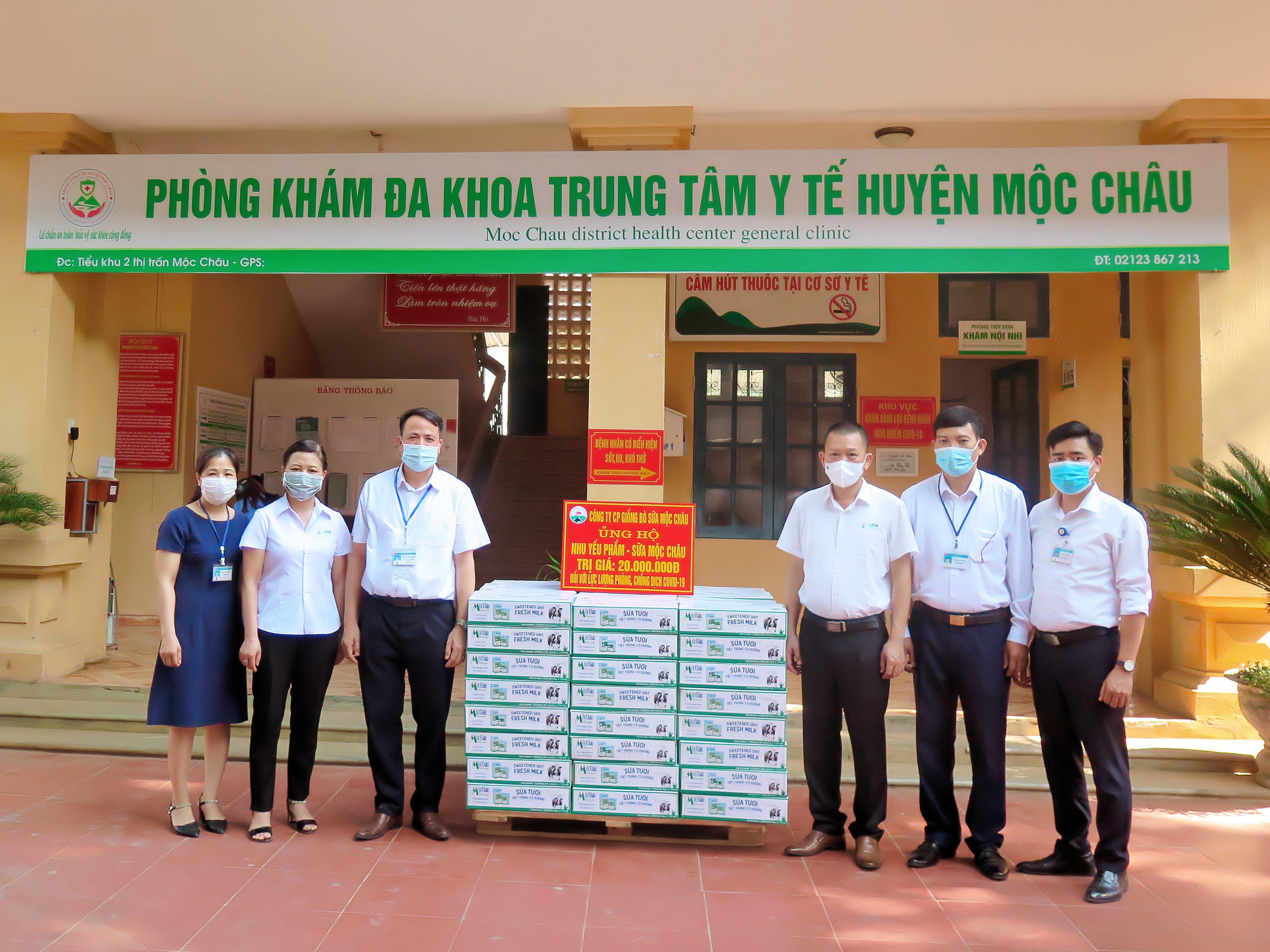 Mộc Châu Milk hỗ trợ hơn 50.000 sản phẩm sữa cho lực lượng tuyến đầu và người dân nơi tâm dịch Covid-19 3