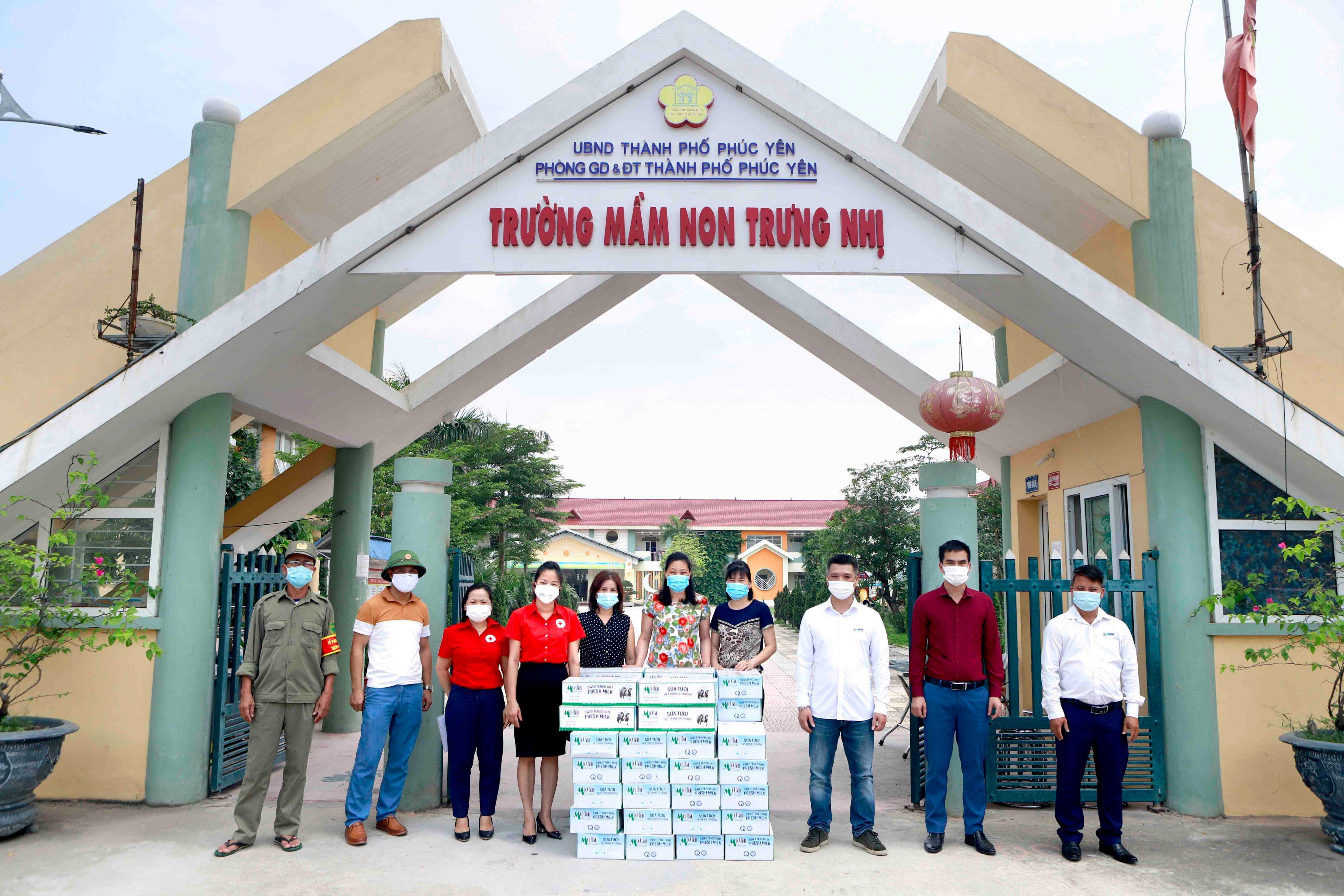 Mộc Châu Milk hỗ trợ hơn 50.000 sản phẩm sữa cho lực lượng tuyến đầu và người dân nơi tâm dịch Covid-19 6