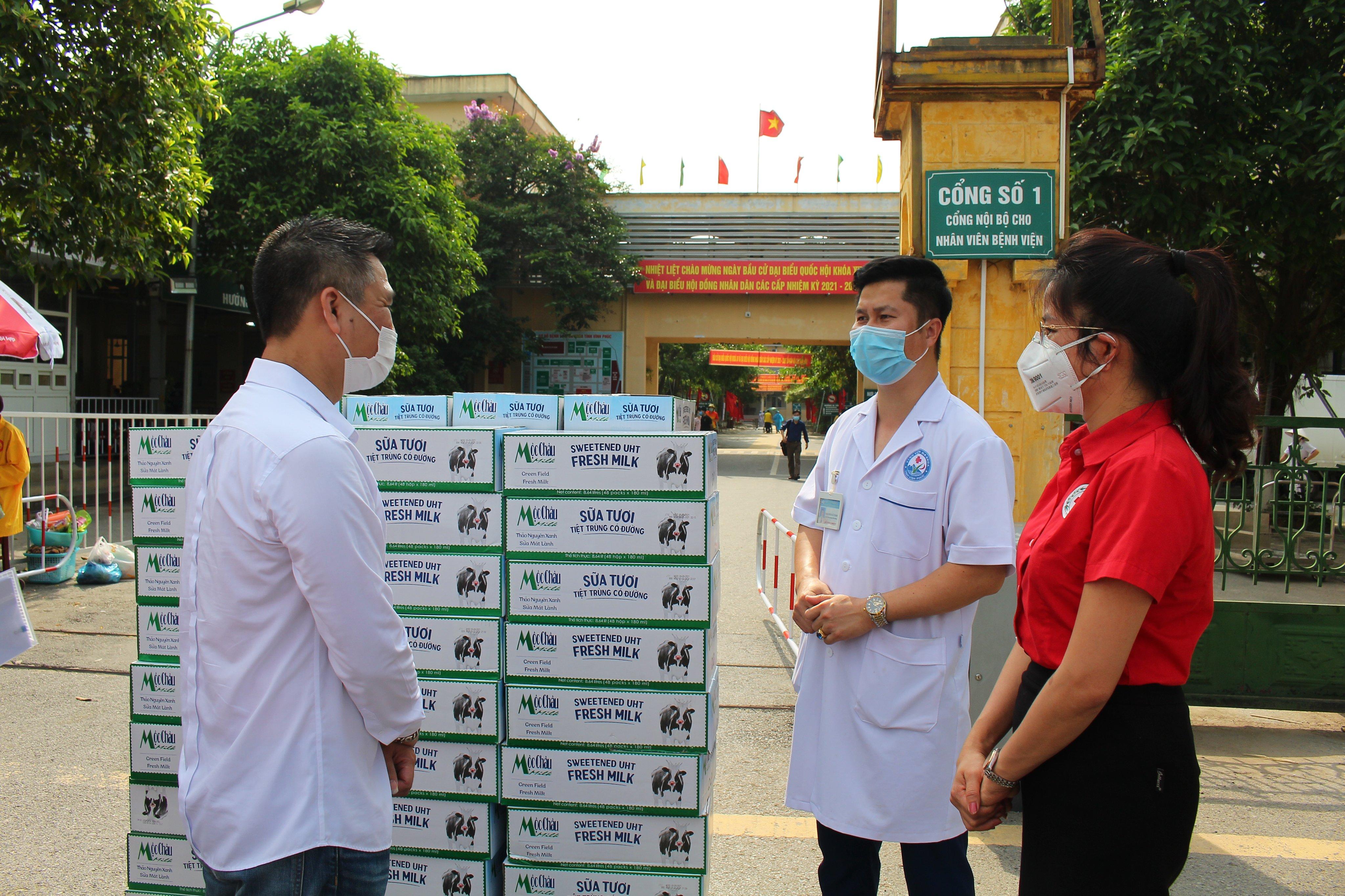 Mộc Châu Milk hỗ trợ hơn 50.000 sản phẩm sữa cho lực lượng tuyến đầu và người dân nơi tâm dịch Covid-19 8
