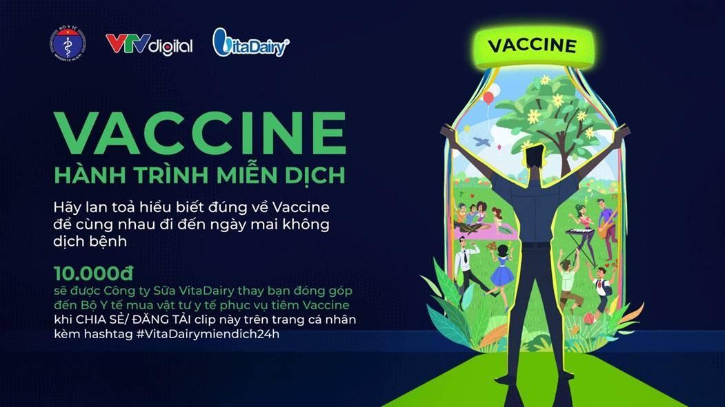 Phát động chương trình Vaccine - hành trình miễn dịch 1