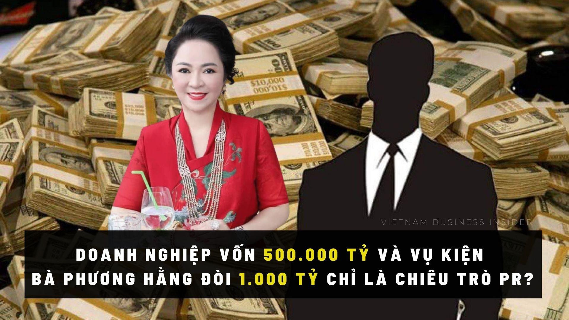 Vụ kiện 1.000 tỷ và Công ty 500.000 tỷ 1