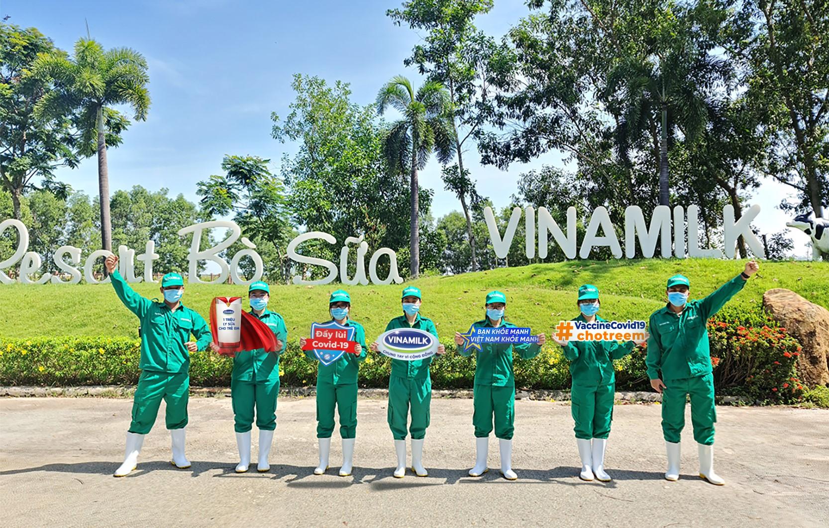 """""""Bạn khỏe mạnh, Việt Nam khỏe mạnh"""" - Chiến dịch của Vinamilk về sức khỏe cộng đồng và cùng ủng hộ Vaccine cho trẻ em 3"""