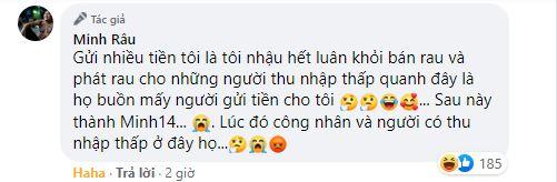 Từ chối nhận tiền, Minh Râu bán rau: 'Khi nào xây biệt thự hay mua siêu xe mình xin sau nhé, bây giờ mình ổn' 4