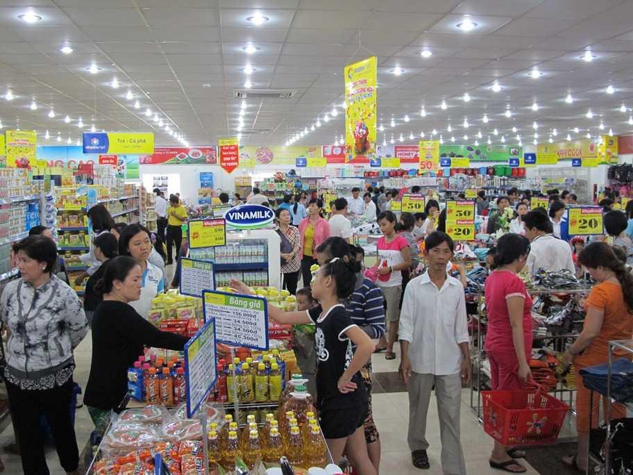 """""""Đóng mở"""" chợ và """"bật tắt"""" siêu thị 1"""