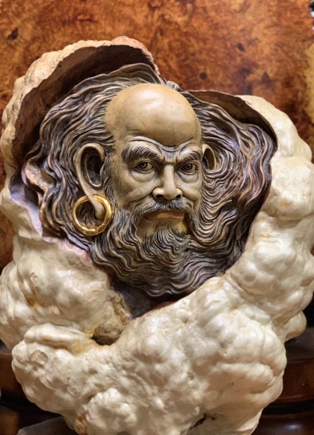 Lã Thành Luân nghệ nhân 'tay ngang': Từ đam mê điêu khắc đến những tuyệt tác để đời 3
