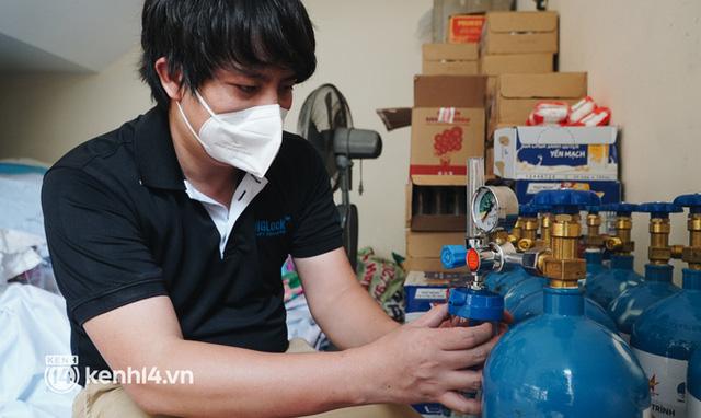 """""""Cha đẻ"""" ATM gạo cho ra đời ATM Oxy và câu chuyện bình oxy cứu sống một người cha ở Sài Gòn trong đêm 2"""