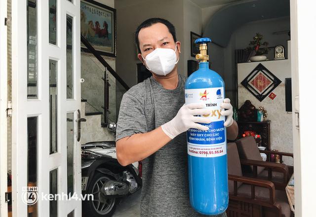 """""""Cha đẻ"""" ATM gạo cho ra đời ATM Oxy và câu chuyện bình oxy cứu sống một người cha ở Sài Gòn trong đêm 4"""